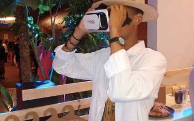 Realidade virtual no Lounge do #BEFW2019